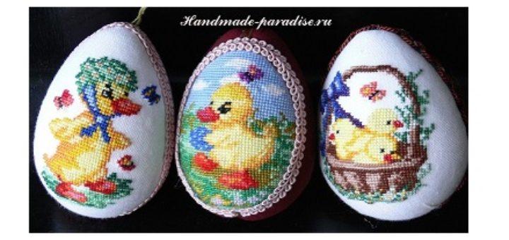 Схемы вышивки для пасхальных яиц