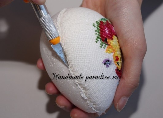 Веселые пасхальные яйца с вышивкой (5)