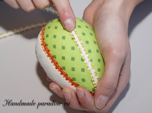 Веселые пасхальные яйца с вышивкой (9)