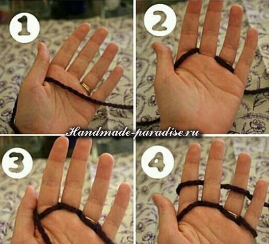 Вязание на пальцах (6)