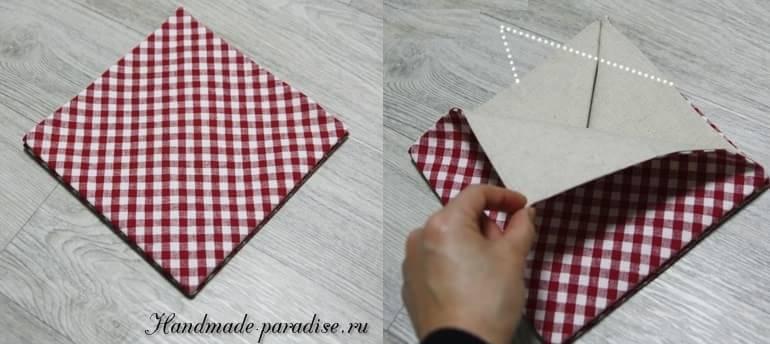 как сшить корзинку в технике оригами (6)