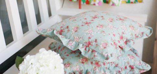 Как сшить наволочку на молнии для подушки