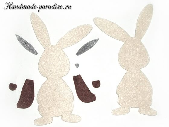 Детский пасхальный декор из фетра (2)