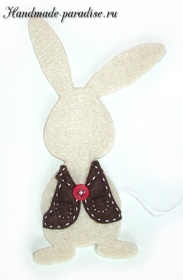 Детский пасхальный декор из фетра (4)