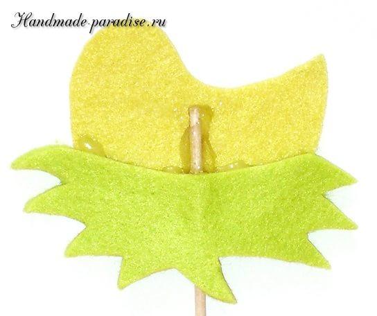 Детский пасхальный декор из фетра (7)