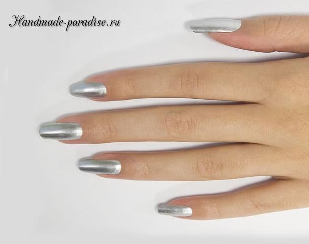 Дизайн ногтей с геометрическим рисунком (2)