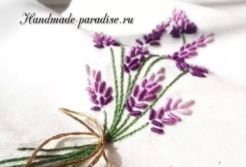 Как вышивать лаванду (1)