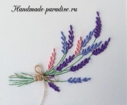 Как вышивать лаванду (4)