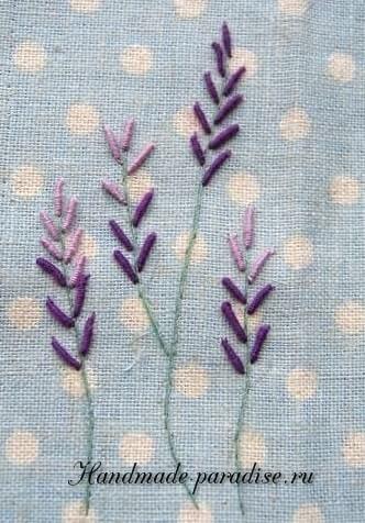 Как вышивать лаванду (11)