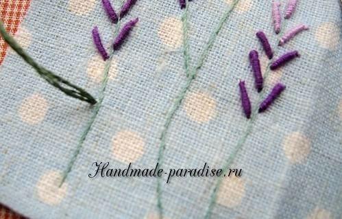 Как вышивать лаванду. Мастер-класс (12)