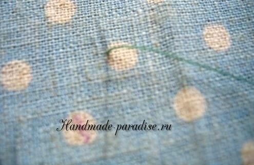 Как вышивать лаванду (19)