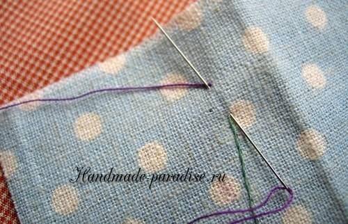 Как вышивать лаванду (9)