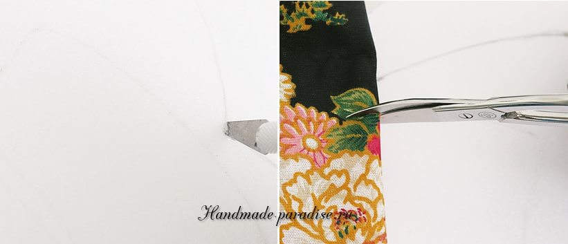 Коробочка с дамой в технике кинусайга (3)