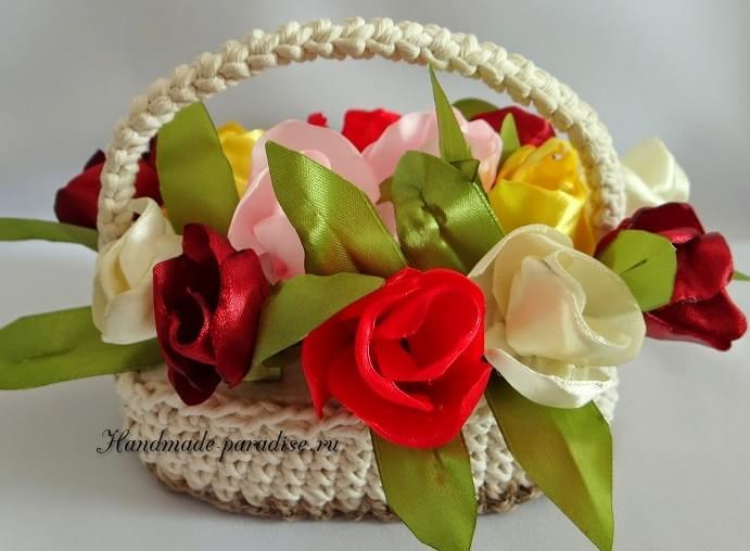 Тюльпаны из шелка (6)