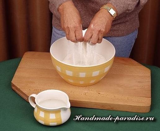 Пасхальный ягненок из соленого теста (10)