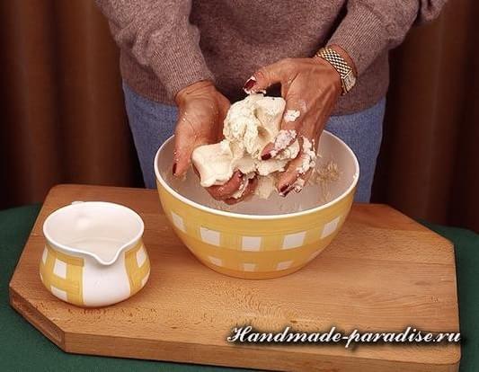 Пасхальный ягненок из соленого теста (2)