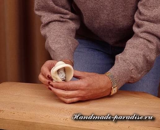 Пасхальный ягненок из соленого теста (5)
