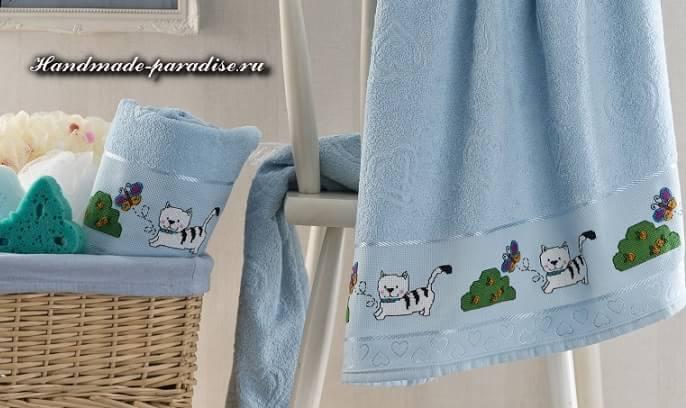 Схемы вышивки для детского белья