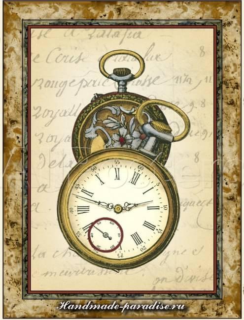Циферблаты часов для декупажа (2)