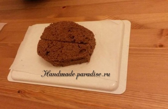 Танк - 3D торт из марципана (4)