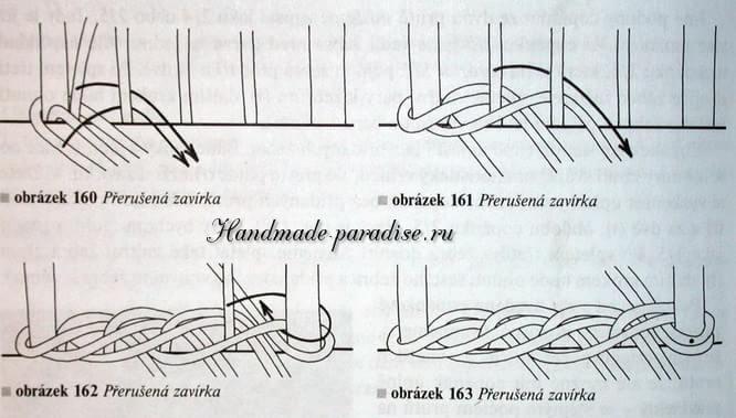 плетение из газет. корзинка пасхальный заяц (4)