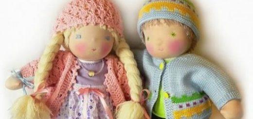 Делаем тряпичную куклу своими руками