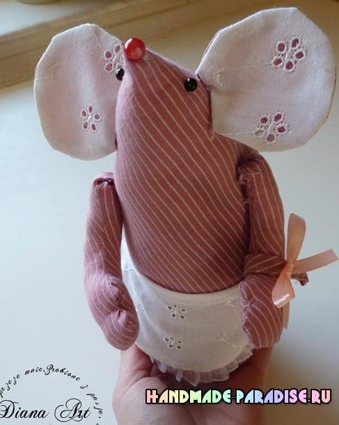 Как сшить текстильную мышку (8)