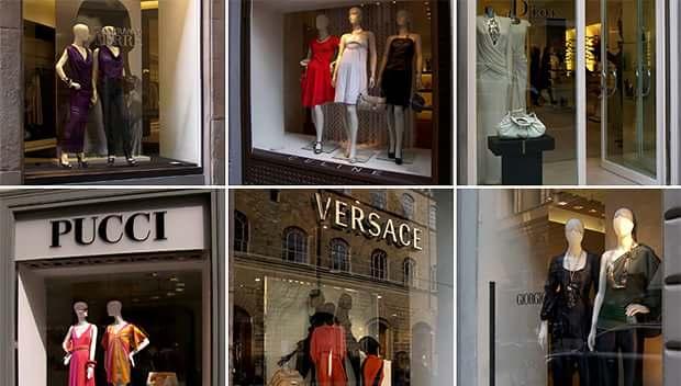 Особенности итальянских бутиков одежды, обуви и аксессуаров