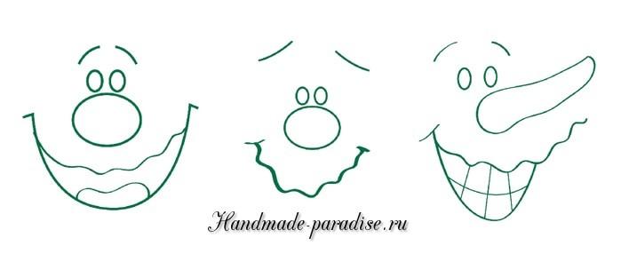 Роспись цветочных горшков и ведерка (3)