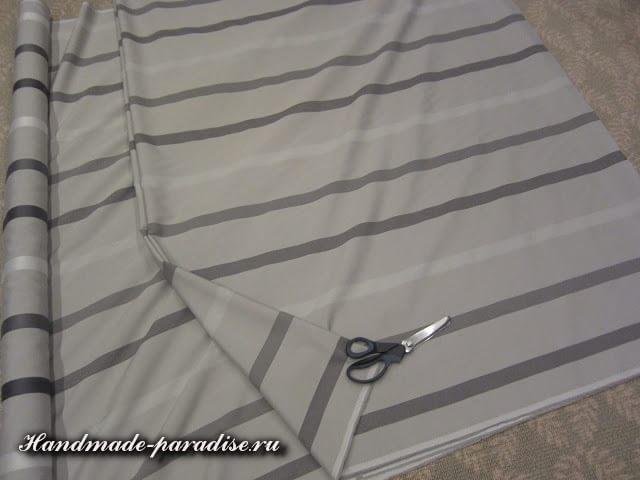 Шитье чехла для садовой скамейки (3)