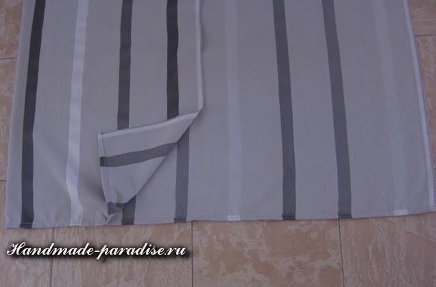 Шитье чехла для садовой скамейки (6)