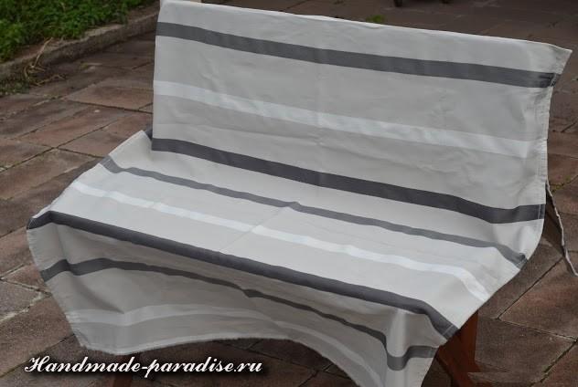 Шитье чехла для садовой скамейки (8)