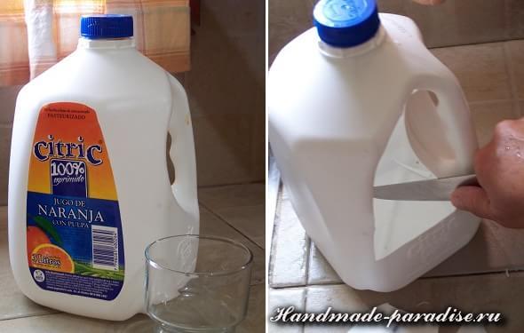 Сказочный домик из пластиковой бутылки (12)
