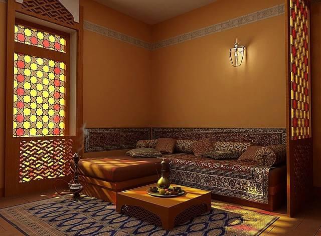 Восточный стиль в интерьере и дизайне комнат (3)