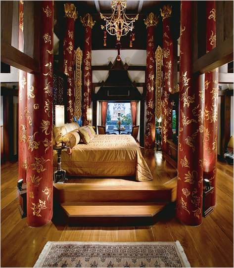 Восточный стиль в интерьере и дизайне комнат (5)