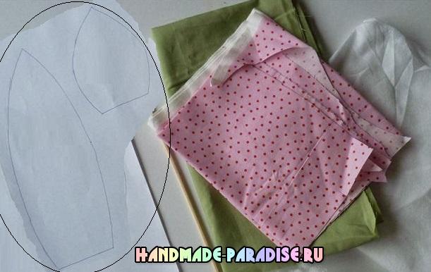 Подушки с тюльпанами из ткани