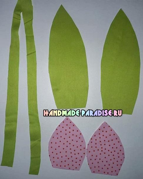 как сшить тюльпаны из ткани (2)