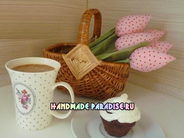 как сшить тюльпаны из ткани (9)