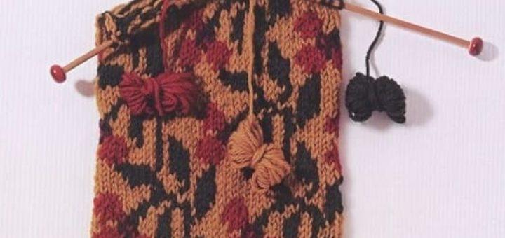 115 схем и модных узоров вязания спицами