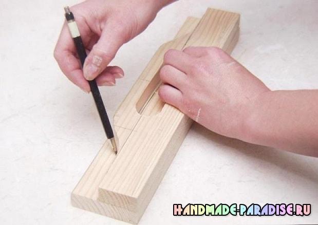 Деревянный поднос своими руками (10)