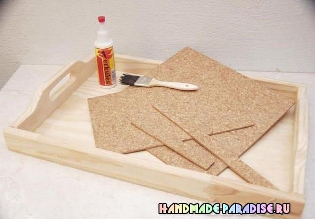 Как сделать деревянный поднос своими руками (3)