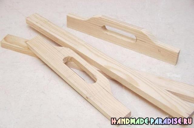 Деревянный поднос своими руками (9)
