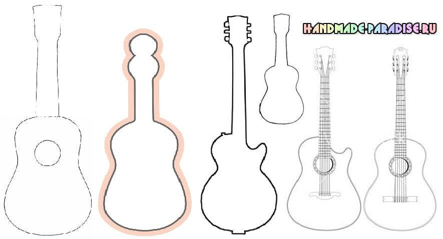 Шаблоны гитары (15)
