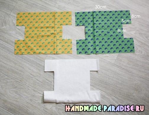 Как сшить корзинку из ткани