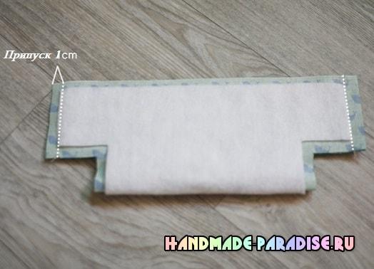 Как сшить корзинку из ткани (3)