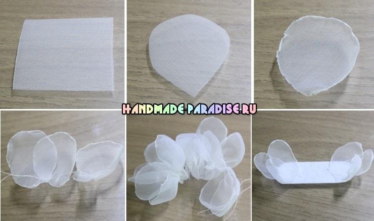 Нежные повязки на голову для ребенка (3)