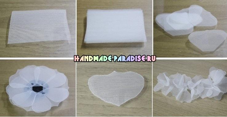 Нежные повязки на голову для ребенка (6)