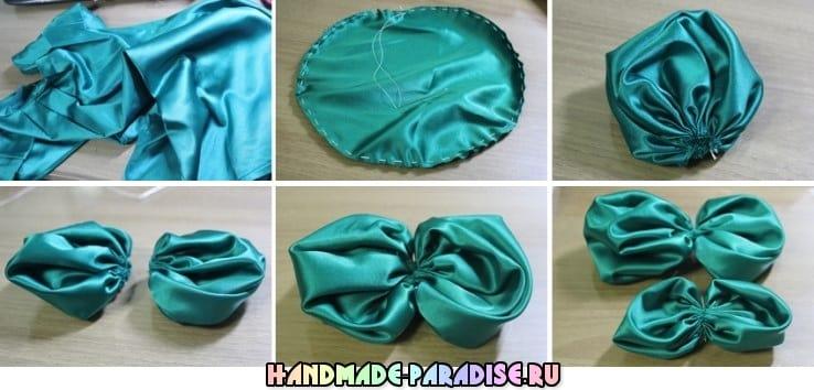 Цветочная повязка на голову для ребенка (2)