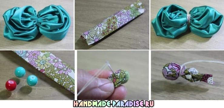 Цветочная повязка на голову для ребенка (5)
