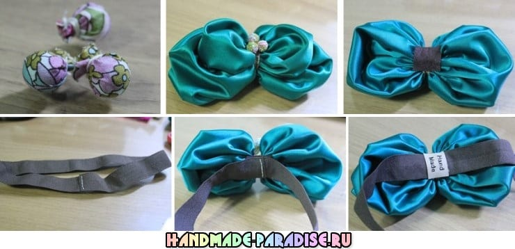 Цветочная повязка на голову для ребенка (6)